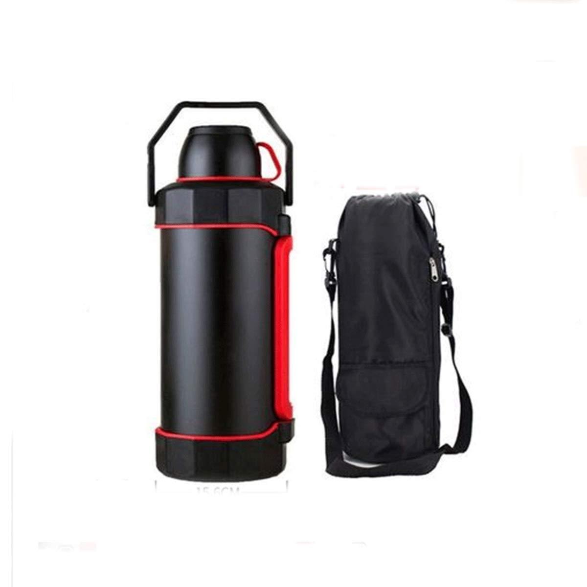 5.2リットル断熱ポット、屋外車の断熱カップ、304ステンレス鋼大容量家庭用やかん魔法瓶、魔法瓶 屋外最高のコンパニオン (Capacity : 5.2L, Color : Black) 5.2L Black B07RPJ3TP3