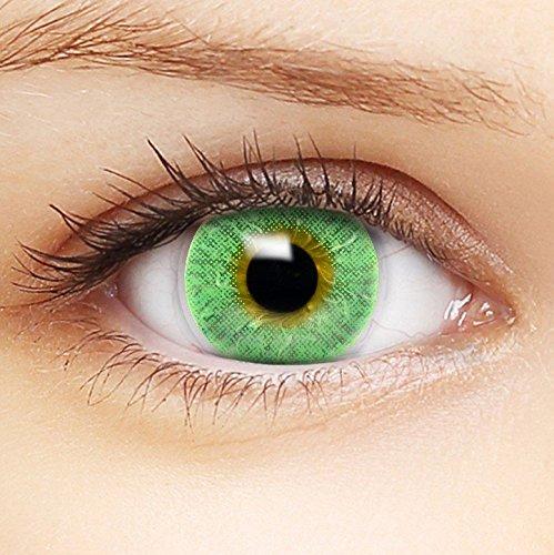 """5 opinioni per LENZERA BASIC® Lenti a contatto colorate """"Intense Green"""" morbide, non corrette,"""