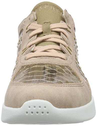 Women's Pink up Lace Low Pink Pink Top Old 675 ESPRIT Sneakers Lune Dark tZ4qBw