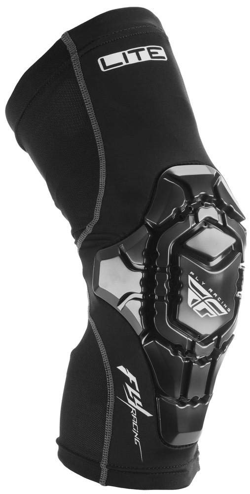 Fly Racing Barricade Lite Knee Guards Black, Large