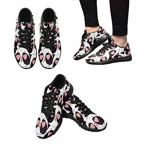 InterestPrint Sneaker Jogging 7 Multi Lightweight Comfort Women's Shoes Running rEqCwr5