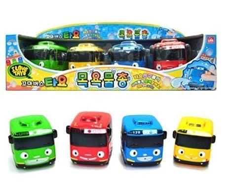 TayoAmazon Tayo Bath esJuguetes Bus Juegos By Toy Y w8nX0PONk