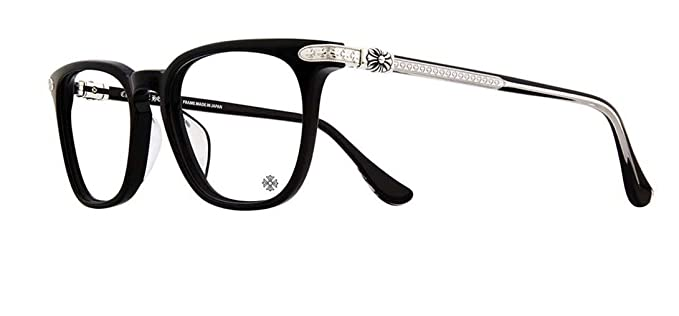 a15055a8fa95 Chrome Hearts - Giss - Eyeglasses (Black-Shiny Silver