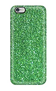 New Lnoggks4659iybbA Glittery Green Skin Case Cover Shatterproof Case For Iphone 6 Plus(3D PC Soft Case)