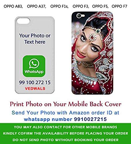 Designguru Customized Photo Mobile Cover For Oppo F3 Amazon In