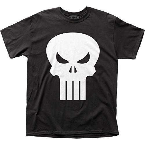 The Punisher Movie Skull Logo Black Mens T-Shirt Tee
