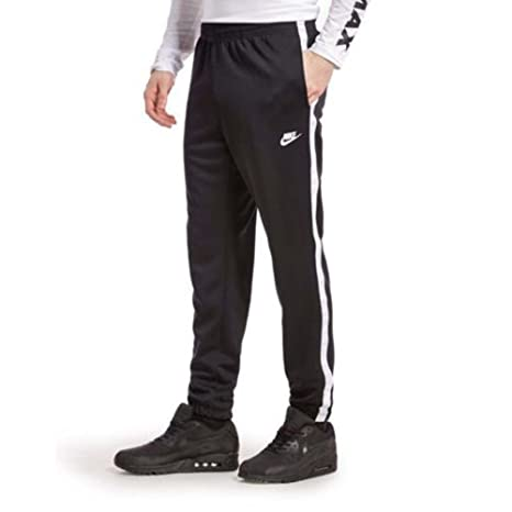 af8028ce8cee Image Unavailable. Image not available for. Color  Nike Men s Tribute  Cuffed Track Pants Black ...
