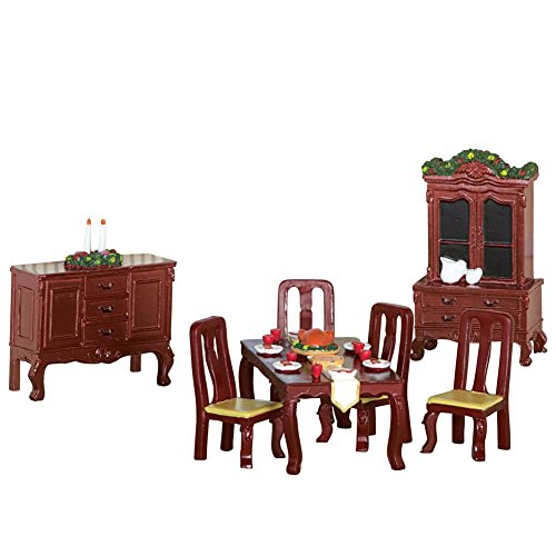 Collectible Mini Thanksgiving Dinner Furniture by