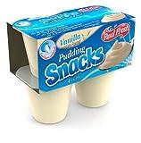 Real Fresh Vanilla Pudding 3.5 oz. (48 Count)
