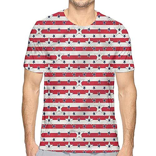 t Shirt USA,Love My Country America Printed t Shirt M
