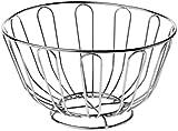 Premier Housewares Wire Fruit Basket, 24 cm - Chrome