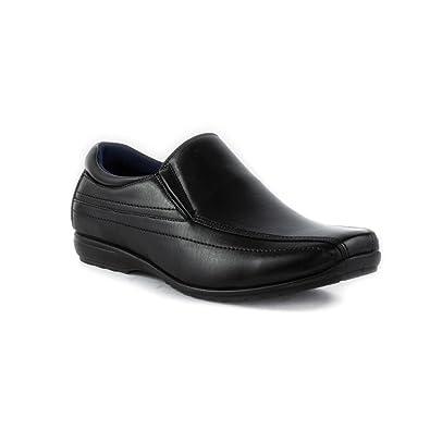 US Brass Zapato Negro Para los Hombres Talla 8 UK/42 EU - Negro FUSnFb4wEs