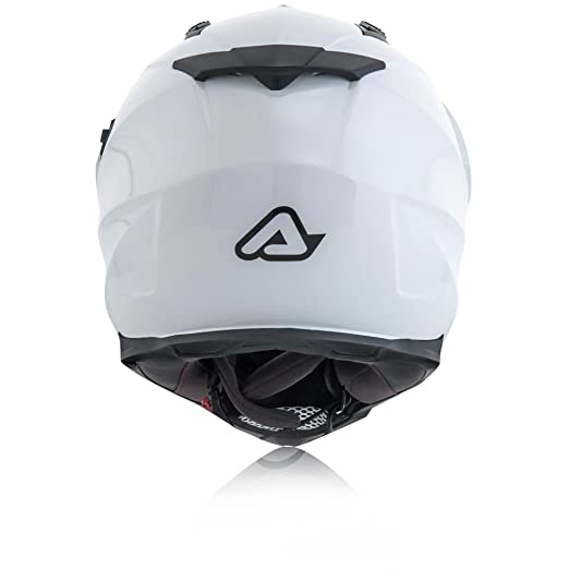 Amazon.es: Acerbis Casco Flip fs-606 blanco XL (integral)/Helmet Flip fs-606 White XL (Full Face Helmet)