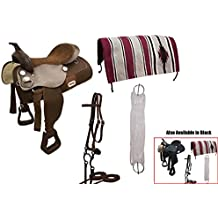 Tahoe 6 Item Easy Ride Western Pleasure Trail Saddle Set