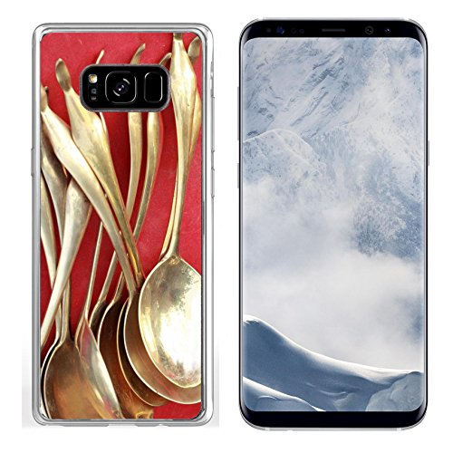 Luxlady Samsung Galaxy S8 plus Clear case Soft TPU Rubber Silicone IMAGE ID 27685175 ladle vintage copper sold in the market