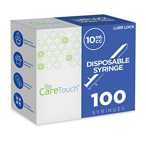 10ml Syringe Only with Luer Lock Tip -