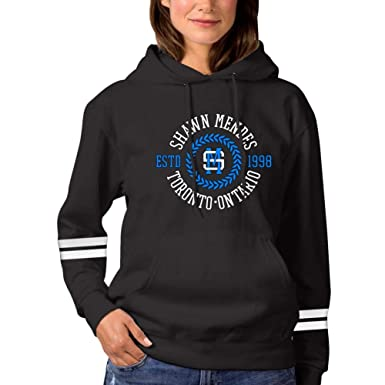 98d87ce4 AGTP87 Shawn-Mendes,Funny Sports Womens Hooded Jacket Hoodies Pocket Black S