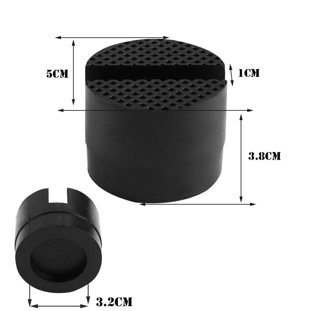 Rubber Support Block Heightening pad 5cm Nicemeet 1 Pack Car Jack