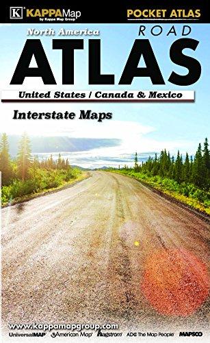 North America Pocket Road Atlas
