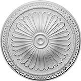 Ekena Millwork CM14AX 15-Inch OD x 2 1/2-Inch ID x 1 3/4-Inch Alexa Ceiling Medallion