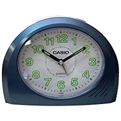 Casio TQ358-2D Bell Desktop Alarm Clock Blue