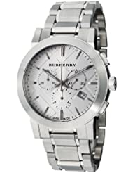 Burberry Womens BU9350 Large Check Stainless Steel Bracelet Watch