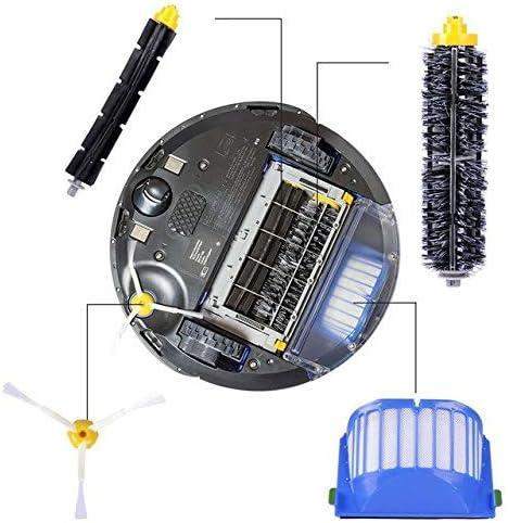 fluky Kit cepillos repuestos de Accesorios para iRobot Roomba ...