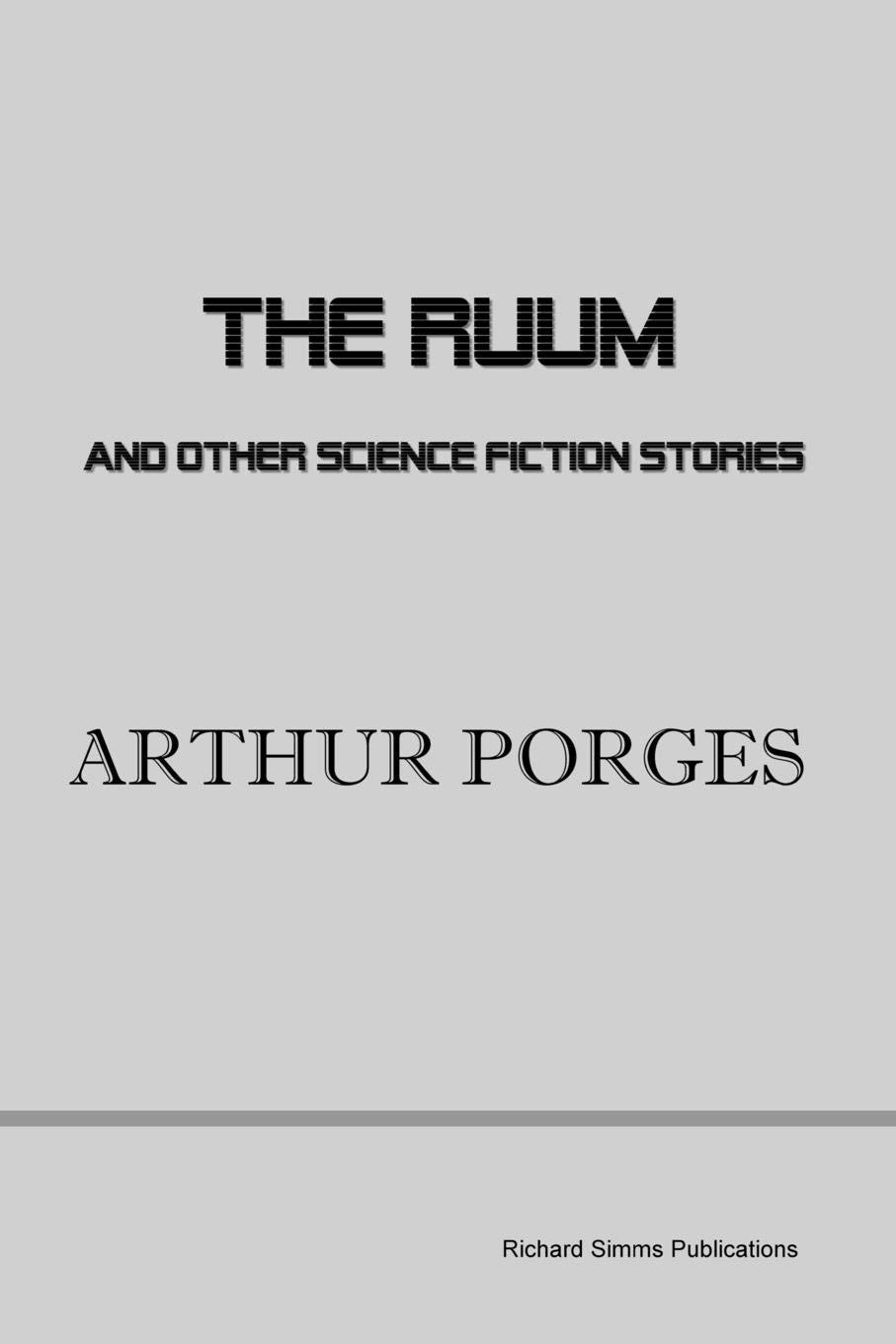 The Ruum and Other Science Fiction Stories: Amazon co uk