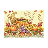 Hoffmaster 311119 Fall Bounty Printed Place Mat, 9-3/4'' Width x 14'' Length (Pack of 1000)