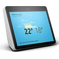 Echo Show (2. Gen.) Premiumlautsprecher mit brillantem 10-Zoll-HD-Display, Weiß