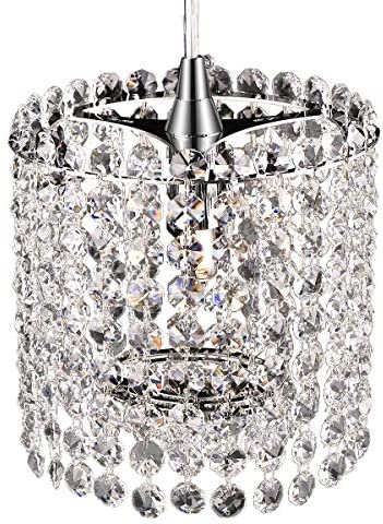 Crystal Chandelier Mini Pendant Lighting 6 inch