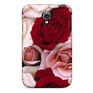 Cynthaskey YorsXYC202DdSkS Protective Case For Galaxy S4(fragrant Roses)
