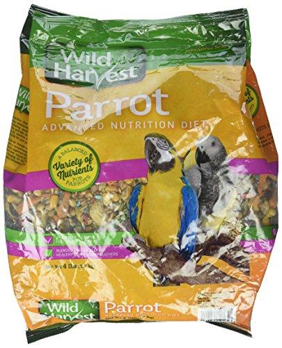 Wild Harvest Parrot Advanced Nutrition Diet, 4 Lb/One Size