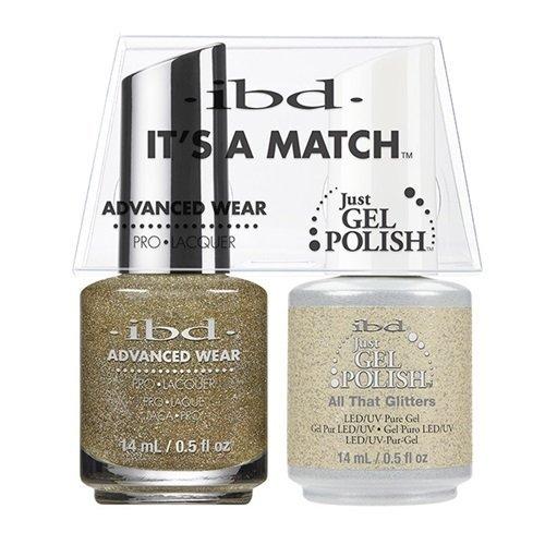 ibd Advanced Wear Color Duo All That Glitters #470 UV Gel Co