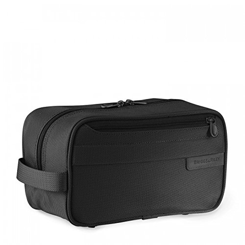 Briggs /& Riley Baseline Classic Toiletry Kit Black Briggs /& Riley Travelware 110-Black-5.5x10x4.5