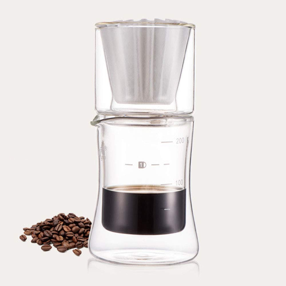 REMIGHTELY BRIGHT Coffee Pot Gift Set - Coffee Set, Can Be Used As A Great Gift (Color : Black) by REMIGHTELY BRIGHT (Image #5)