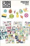 Carpe Diem by Simple Stories Seasons Sticker Tablet