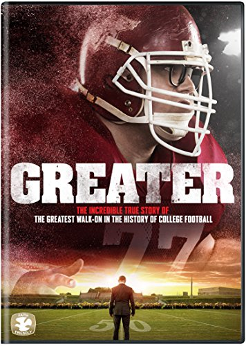 Greater, the 2016 Film about Brandon Burlsworth on DVD