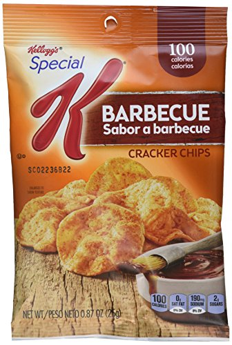 Price comparison product image Kellogg's Special K Cracker Chips,  Honey BBQ,  0 Ounce (Pack of 36)