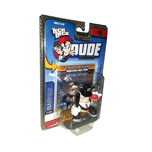 (Tech Deck Dude Barney #082 (Blue & Gold Hat) Dude Evolution Crew 2003)