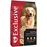 Exclusive Adult Dog Food Chicken & Brown Rice Recipe, 5 lb Bag