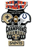 Super Bowl XLIV Oversized Commemorative Pin #2
