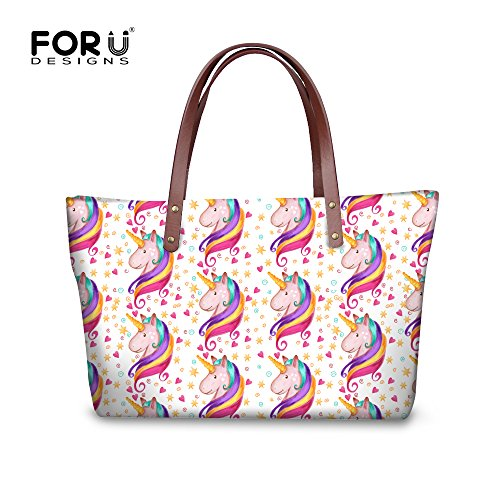 Casual Women FancyPrint Handbags Bages Dfgcc1678al Stylish Tote rZaWanvT