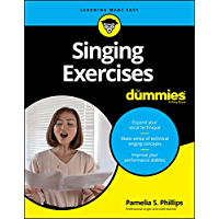Singing Exercises For Dummies (For Dummies (Music)) book cover
