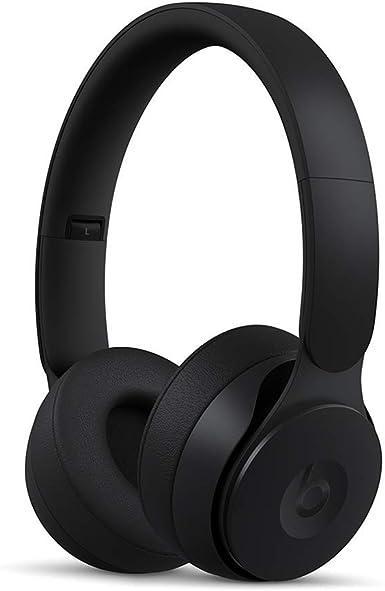 Beats Solo Pro Wireless ワイヤレスノイズキャンセリングヘッドホン-Apple H1ヘッドフォンチップ、Class 1 Bluetooth、アクティブノイズキャンセリング機能、外部音取り込みモード、最長22時間の再生時間 - ブラック