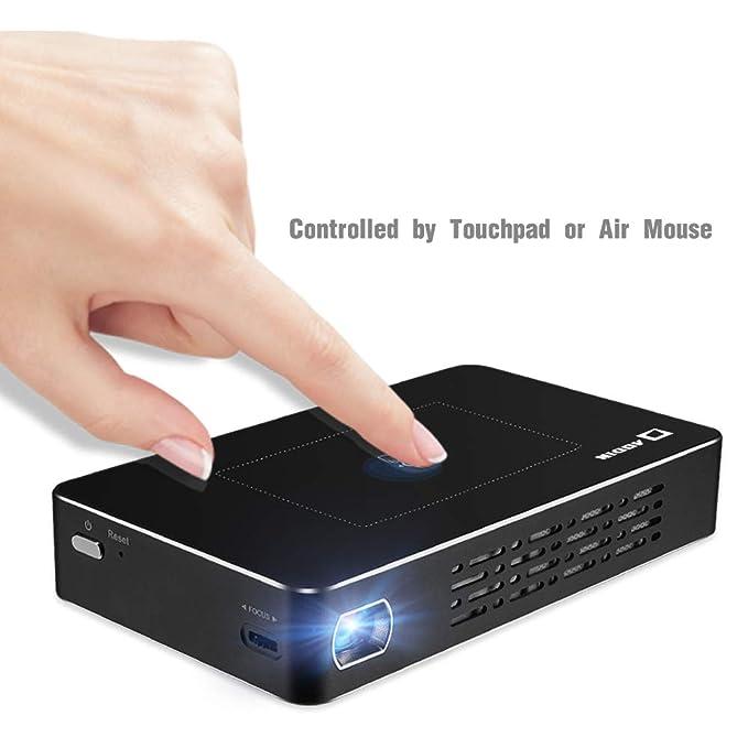 Amazon.com: Aodin Smart Portable Mini Projector Android ...