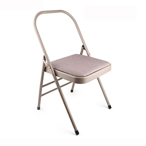 Amazon.com : Yoga Chair Iyengar Special Yoga Chair Auxiliary ...