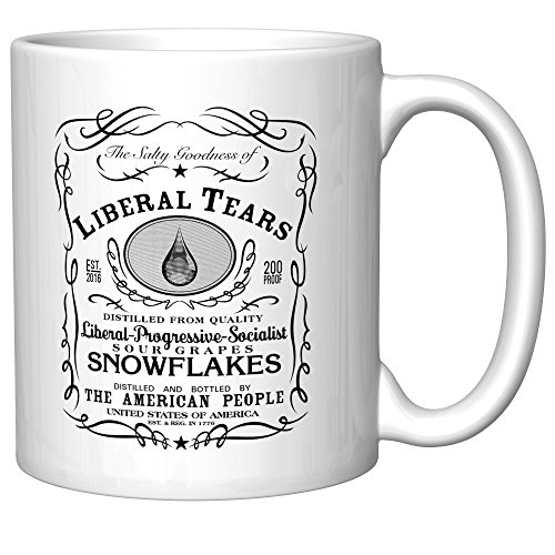 Liberal Tears Coffee Mug - Teardrop (Coffee Cups Snowflake)