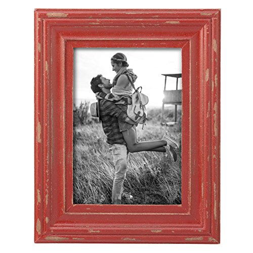 Foreside Home & Garden FFRD06232 8X10 Dalton Photo Frame Red from Foreside Home and Garden