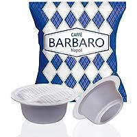 100 CAPSULE CAFFE' BARBARO COMPATIBILI BIALETTI CREMOSO